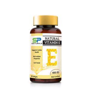 SP Naturals Vitamin E mockup