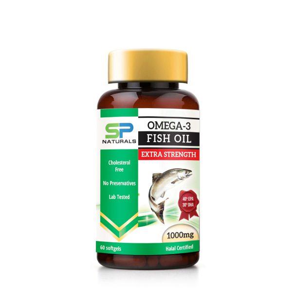sp naturals Fish Oil Extra Strength 1000mg mockup copy