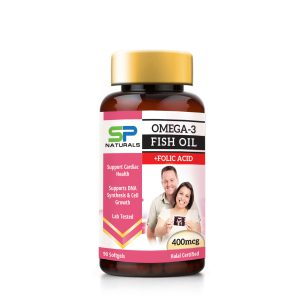 sp naturals Fish Oil +folic acid mockup copy