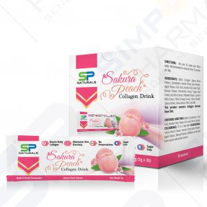 SP Naturals Sakura Peach Collagen