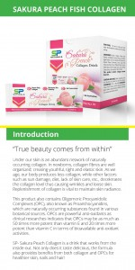 SP Naturals Sakura Peach Collagen Pamplet 2