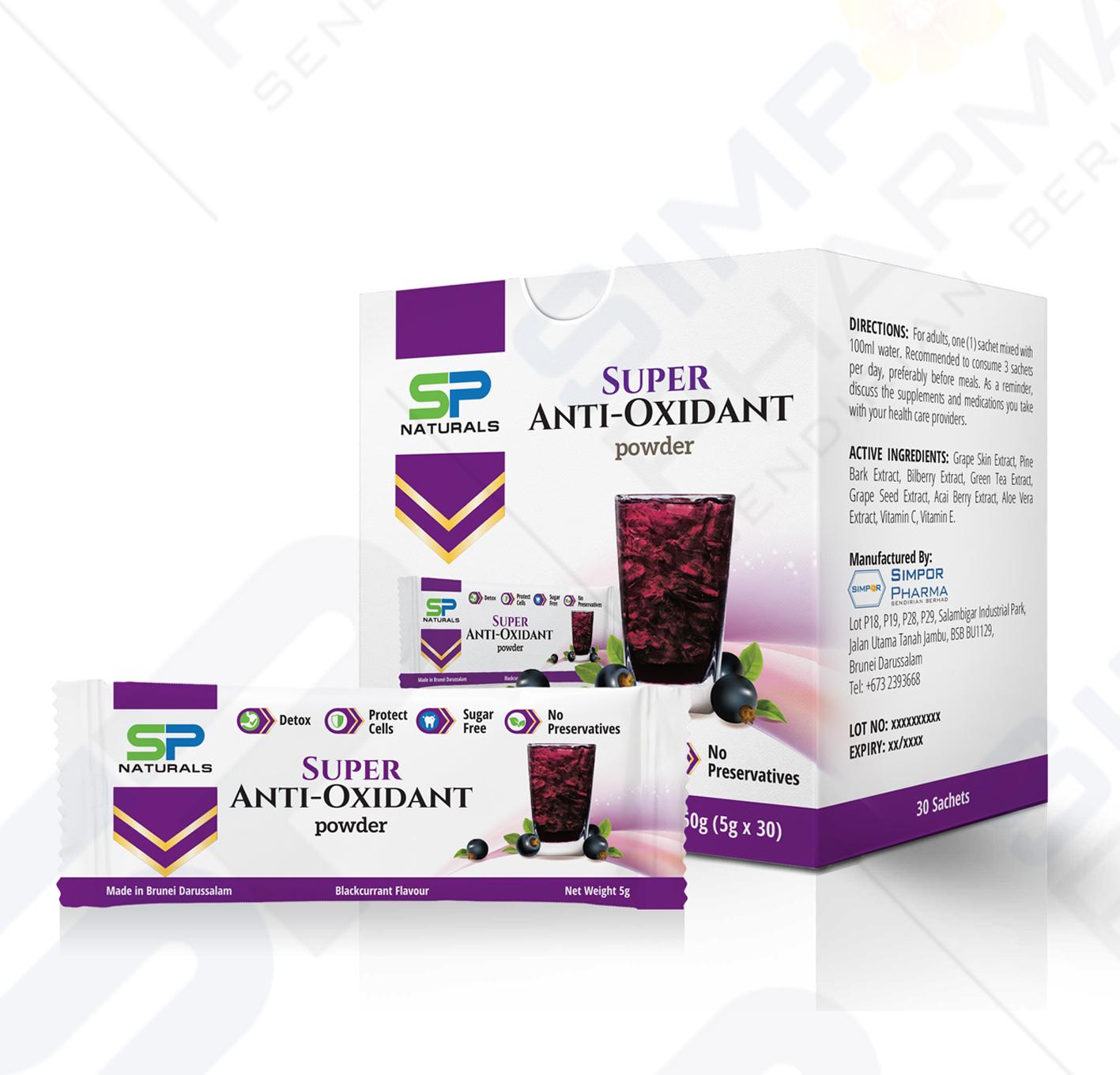 SP Naturals Super Anti-Oxidant